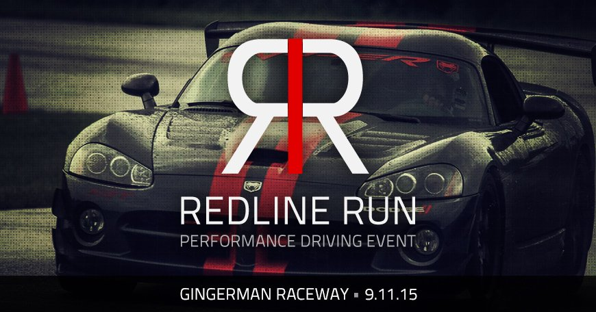 Redline Run Social Media Asset